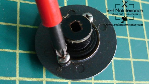 drag knob disassembling