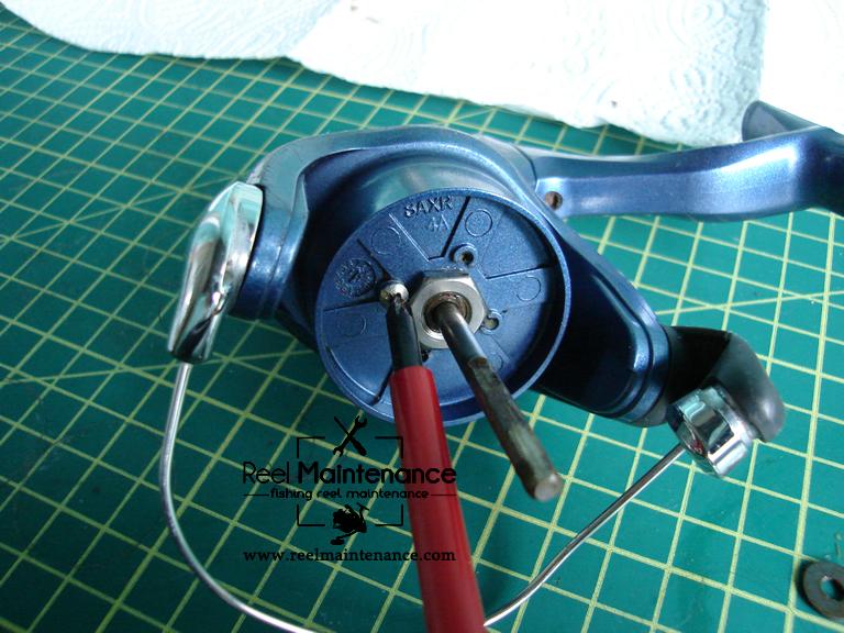 rotor nut retainer screw