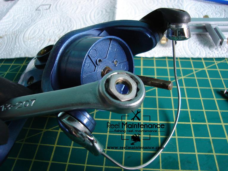 spinning reel rotor nut