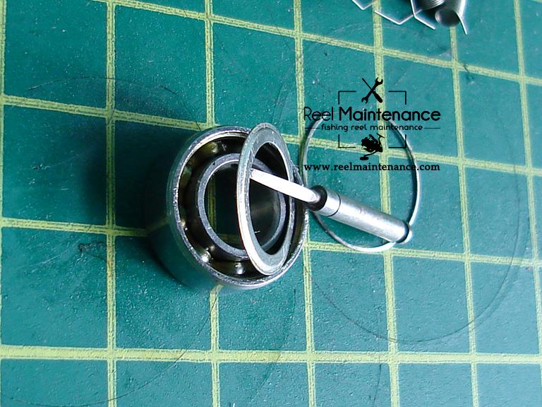 bearing shield remove