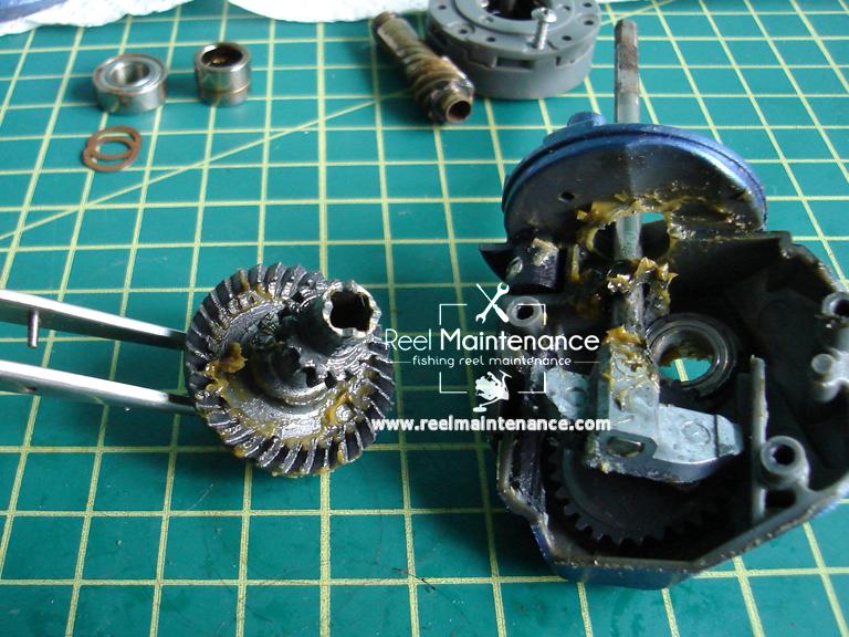 fishing reel drive gear