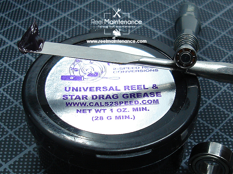 cal's purple drag grease bearing