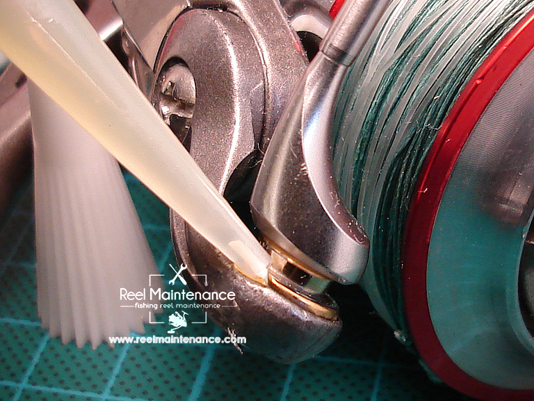 line roller oiling